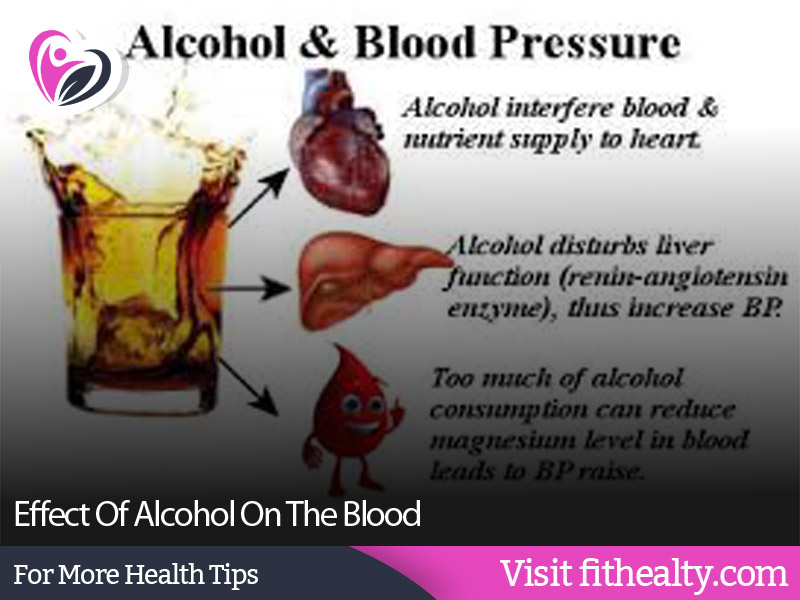 Effect Of Alcohol On The Blood