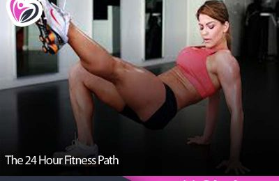 The 24 Hour Fitness Path