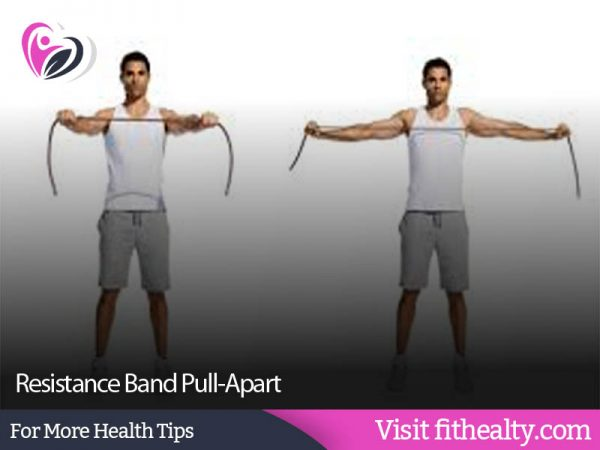 Resistance Band Pull-Apart